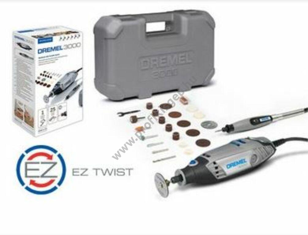 Bosch Dremel Dremel 3000-es sorozatú multifunkciós szerszám 25 tartozékkal (3000-1/25) Bosch_dremel_F0133000JS