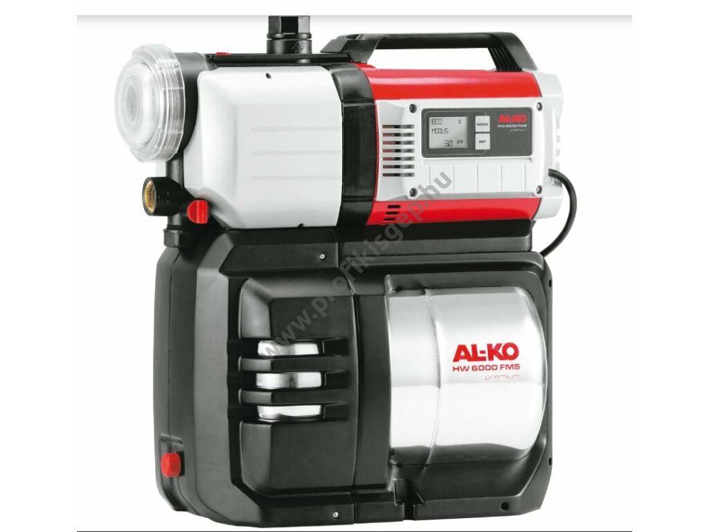 AL-KO HW 6000 FMS Premium házi vízmű - INOX tartállyal