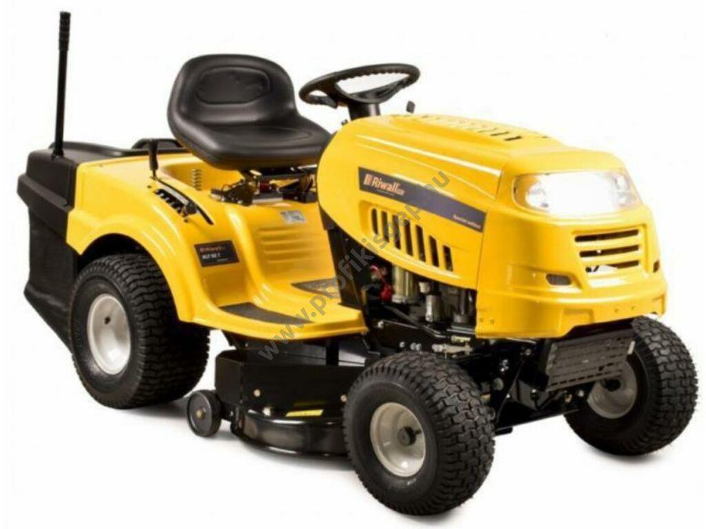 Riwall RLT 92 T gyűjtős fűnyíró traktor  - ÖSSZESZERELVE ÉS HASZNÁLATRA KÉSZEN SZÁLLÍTJUK!