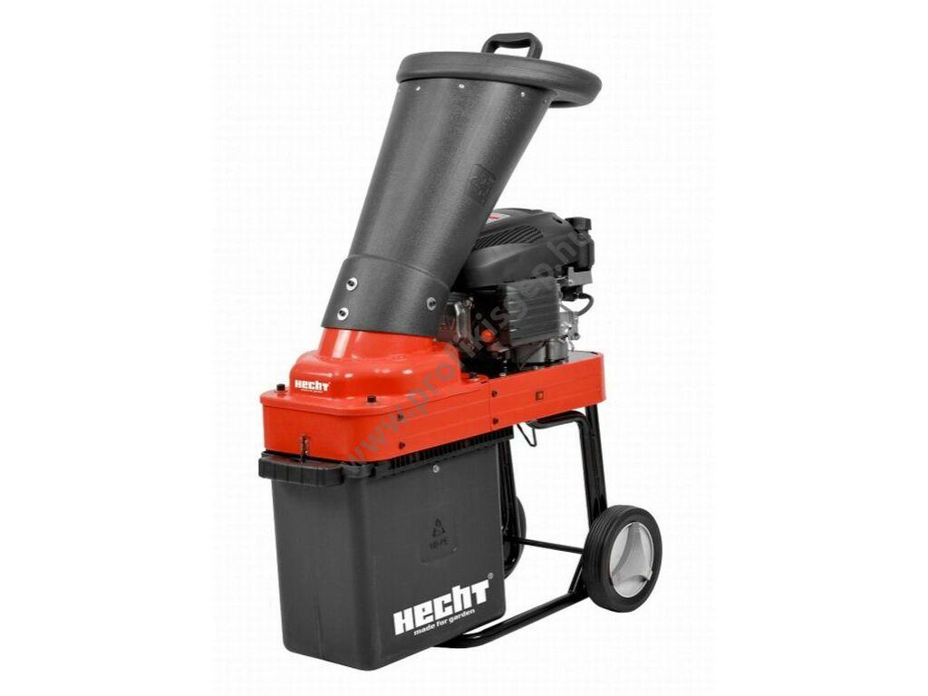 HECHT 6173 Benzinmotoros ágaprító, komposztáló, forgókéses, OHV173cm3, ágátmérő: 3,6 cm, gyűjtődoboz