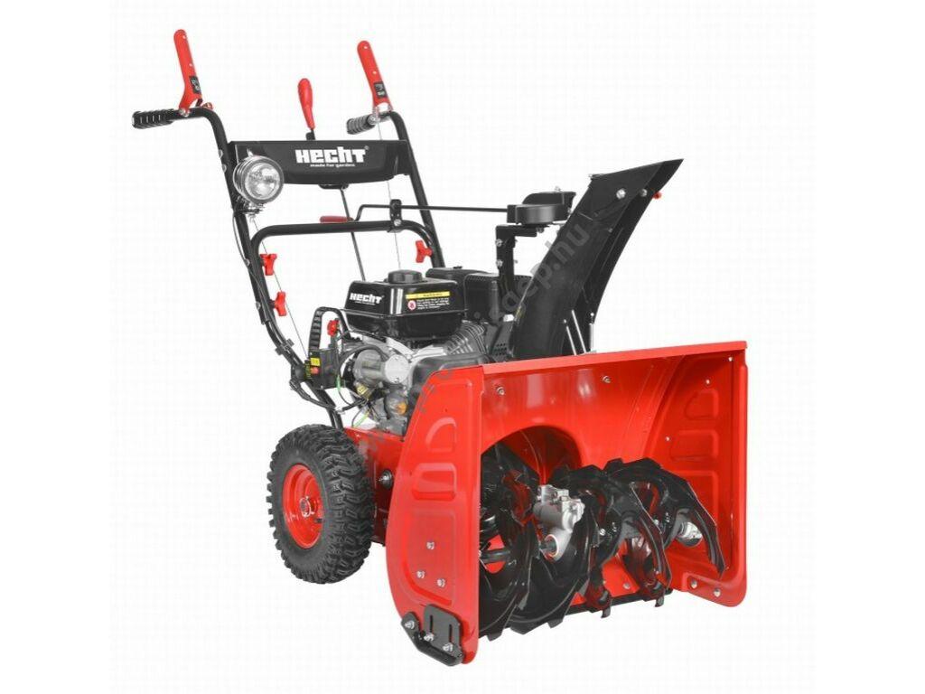 HECHT 9661SE motoros kétfokozatú hómaró, elektromos indítás, 196 cm3, 61 cm, 6+2 sebesség