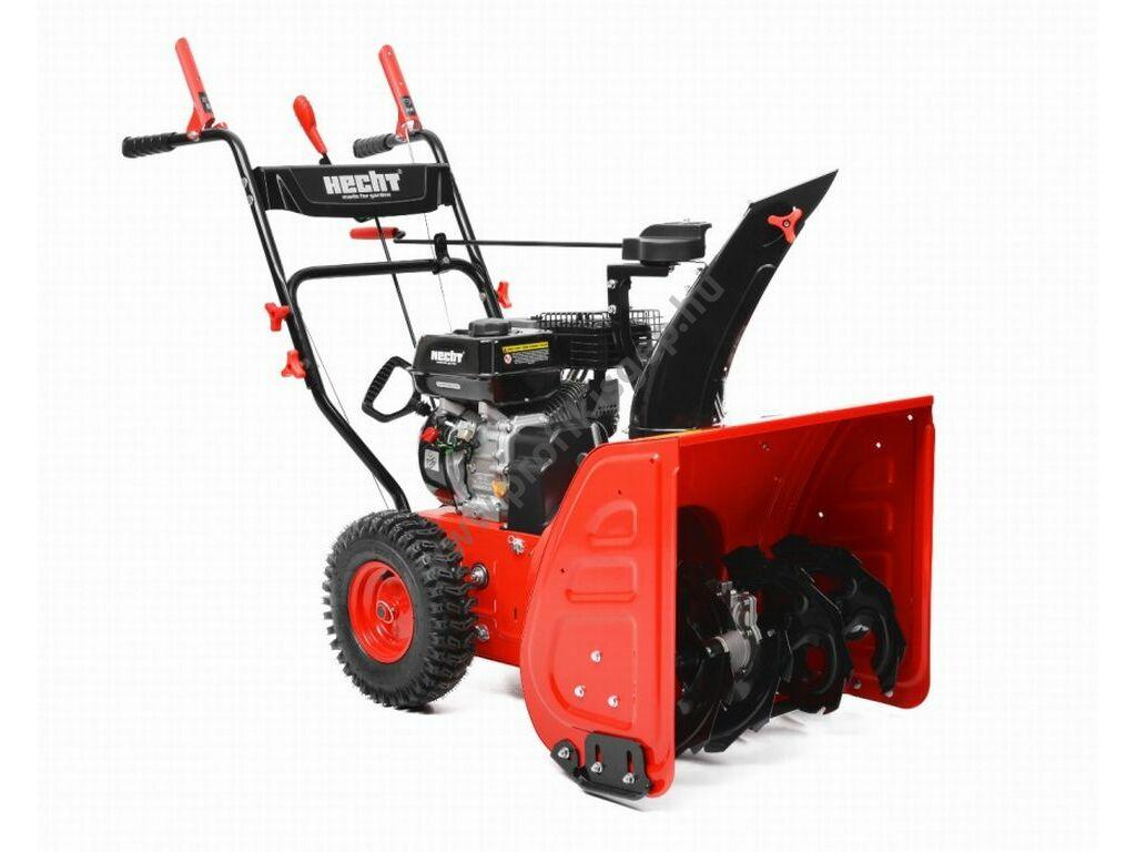 HECHT 9661 motoros kétfokozatú hómaró, 196 cm3, 61 cm, 6+2 sebesség