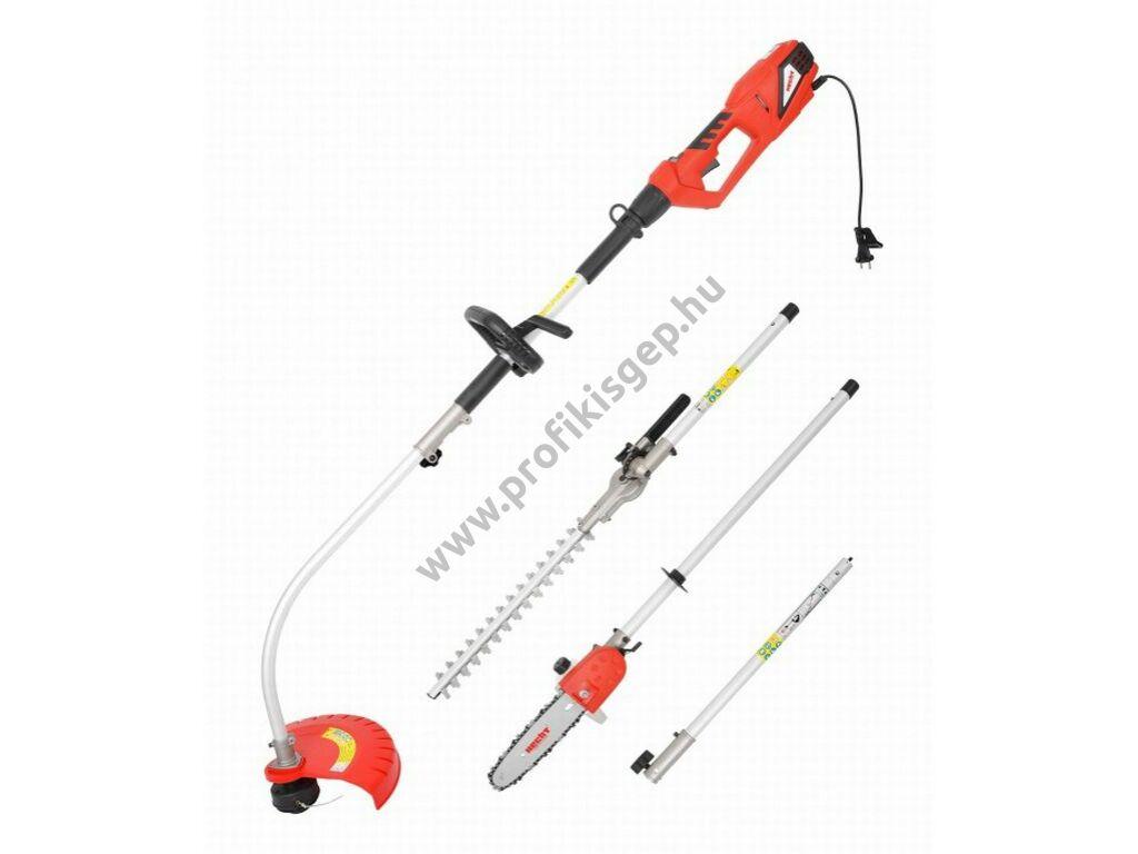 HECHT 690 3IN1 elektromos kombigép fűrész-sövényvágó-szegélyvágó