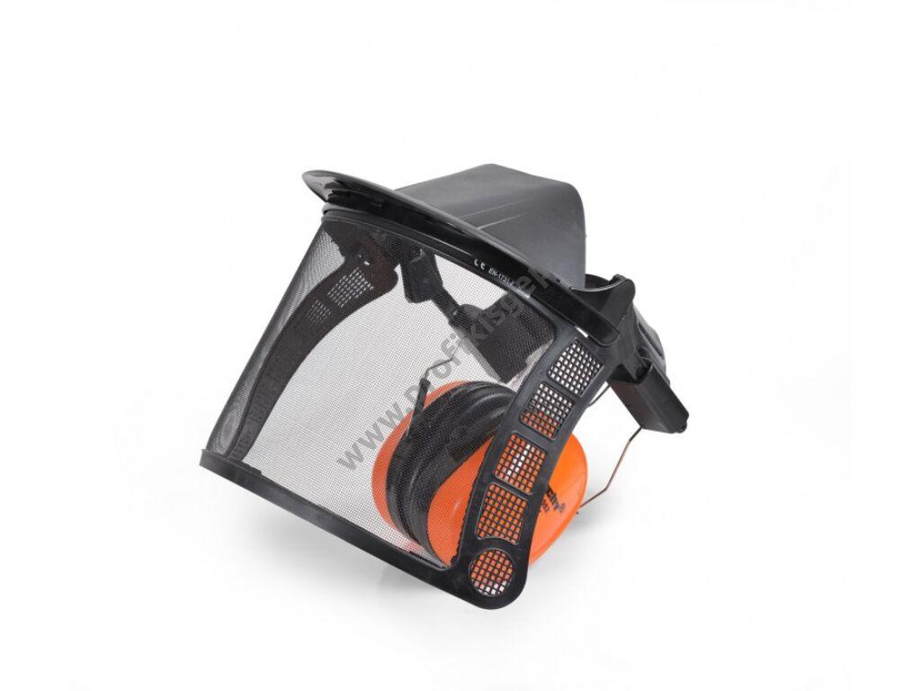 HECHT 900105 Védőrostély álarc hallásvédővel