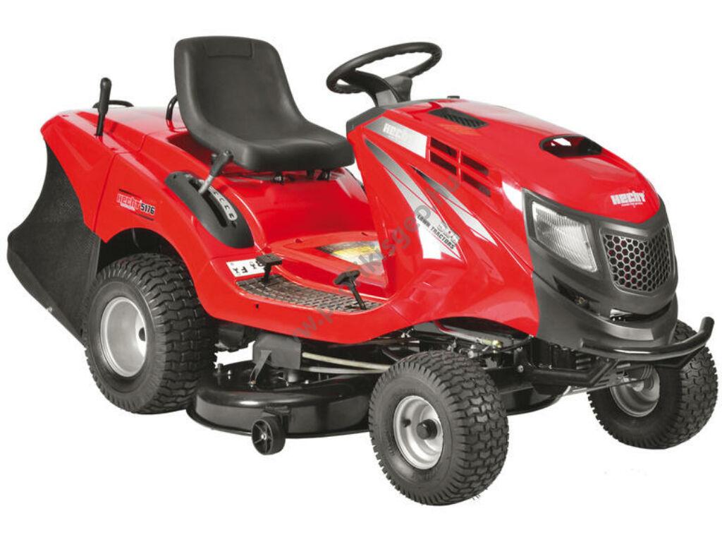 HECHT 5227 fűgyűjtős fűnyíró traktor hidrosztatikus meghajtással, 102cm, Briggs 724cm3, - ÖSSZESZERELVE ÉS HASZNÁLATRA KÉSZEN SZÁLLÍTJUK!