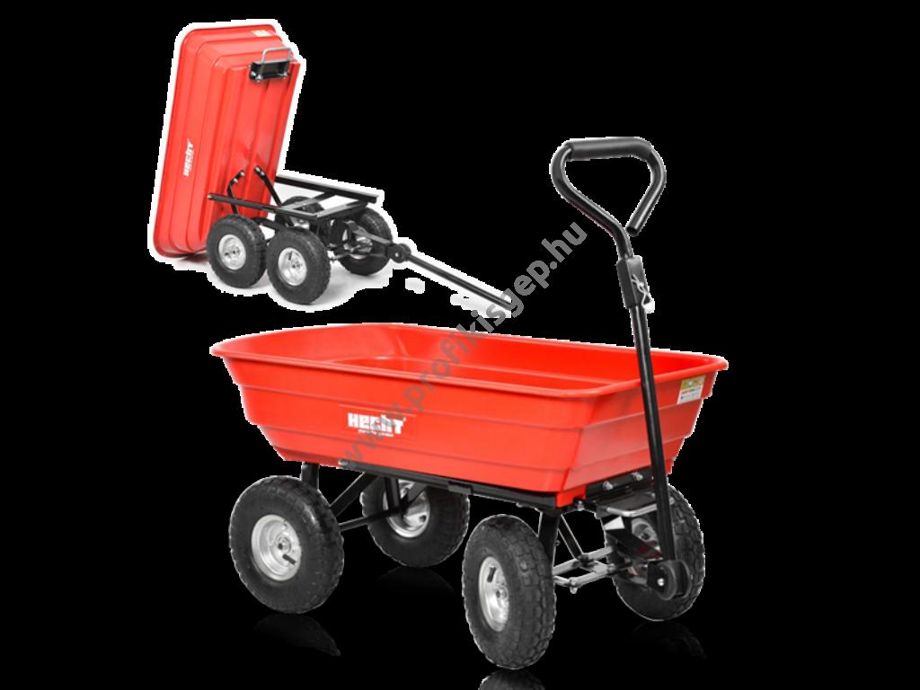 HECHT 52145 kerti szállító fém váz és műanyag test