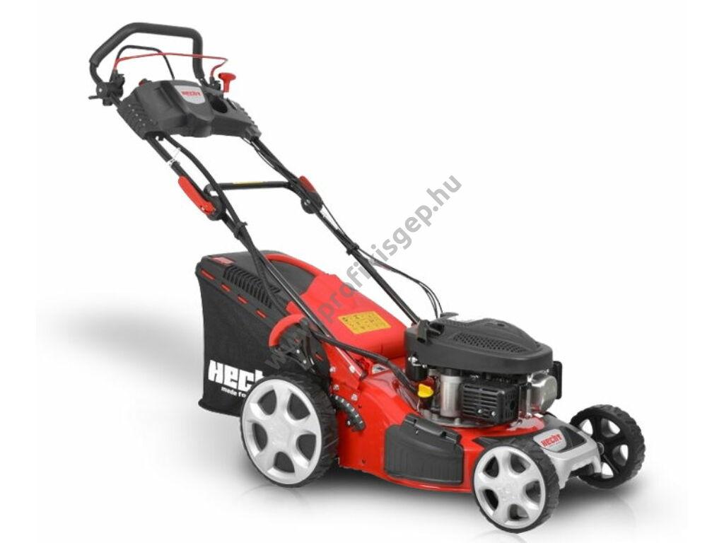 HECHT 543 SWE 5IN1 Benzinmotoros önjáró fűgyűjtős fűnyíró, 43cm, OHV 98cm3, Önindító, oldalkidobó, mulcsbetét