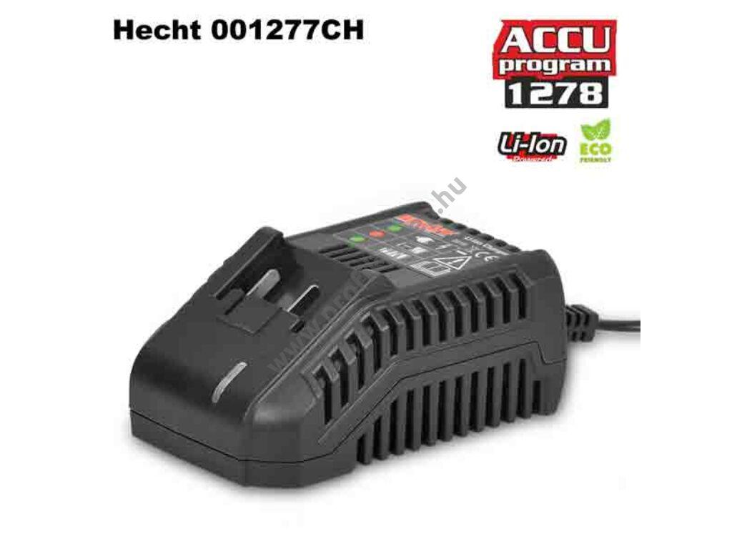 HECHT 001277 CH - Akkumulátor töltő 20V,  (AKKU program 1278)
