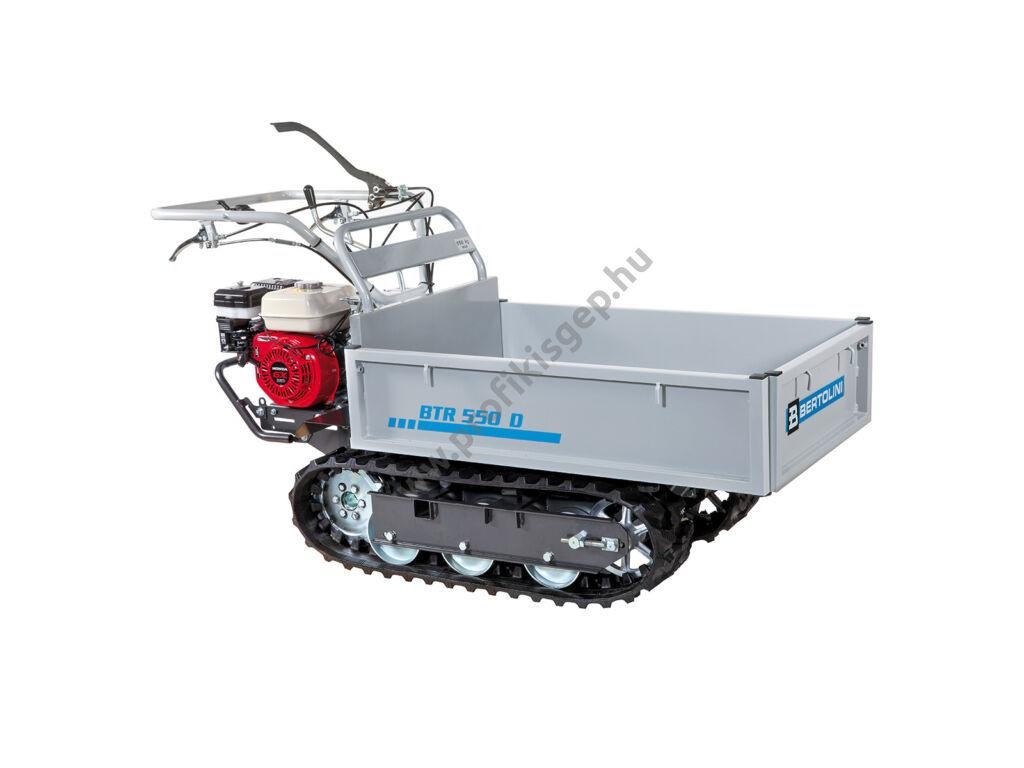 BERTOLINI BTR 550 D professzionális felhasználású transzporter hidraulikus billentéssel