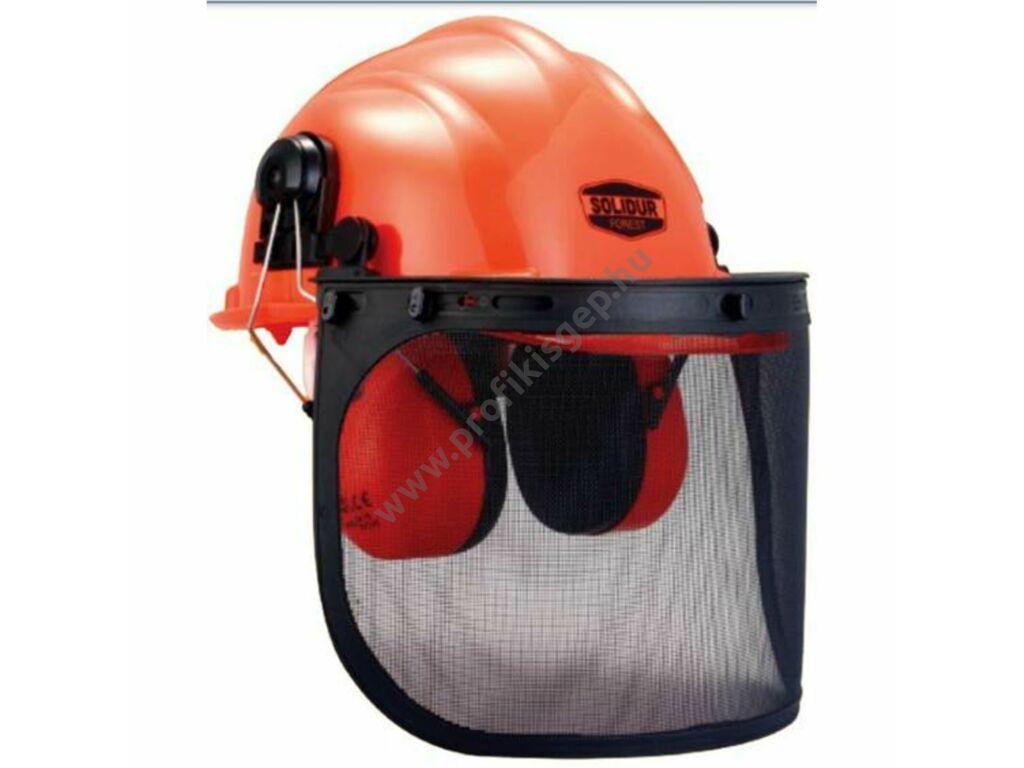Solidur CA01 komplett erdészti védősisak