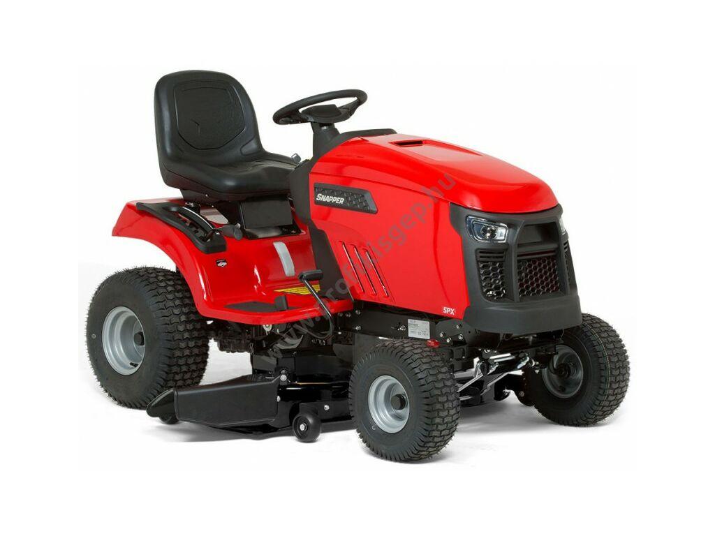 SNAPPER SPX 110 oldalkidobós fűnyíró traktor - kéthengeres Briggs&Stratton motor - hidrosztatikus - 107 cm