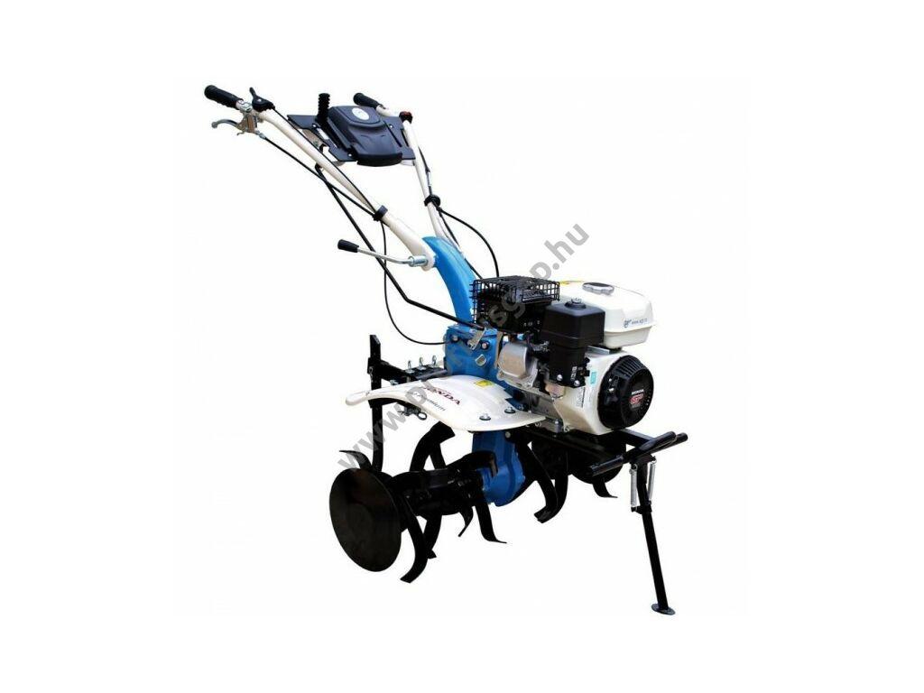 AGT 7580 rotációs kapa HONDA GP200, 2+1 sebesség, 2x3 kapatag, járókerék, töltögető kapa