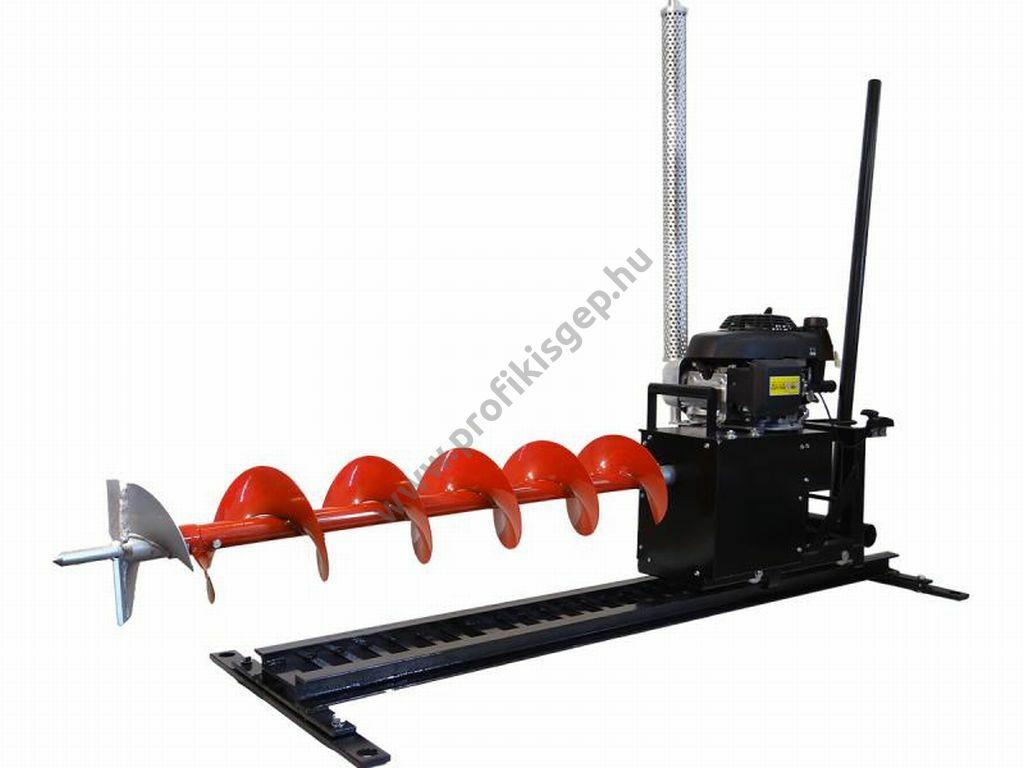 EUROKOMAX vízszintes ipari talajfúrógép (tartozékokkal) - HONDA benzinmotorral