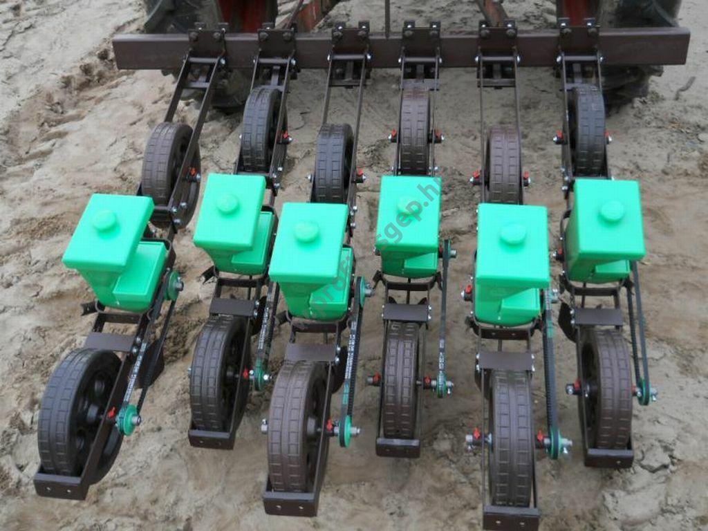 GS-2 gépi vetőelem - komplett, két kerékkel, kar nélkül