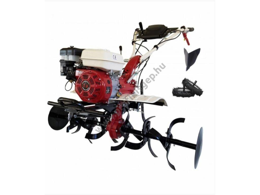 AGT MS7100CF rotációs kapa 7LE benzinmotor, 2+1 sebesség, 2x3 kapatag, járókerék, töltögető kapa