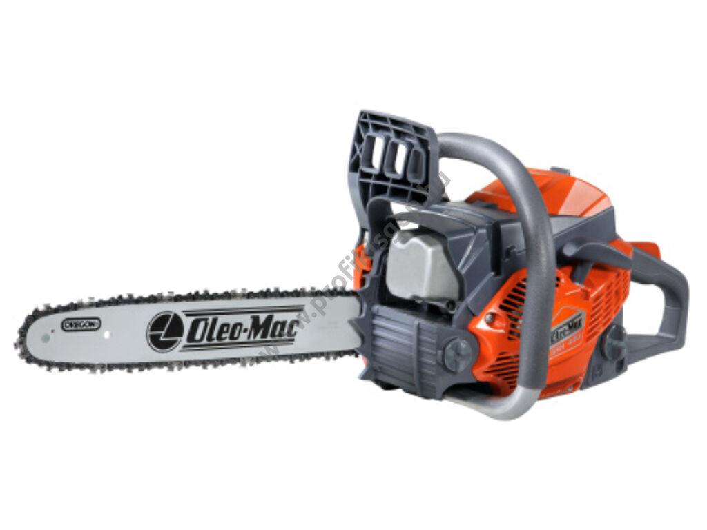 Oleo-mac GSH 400 láncfűrész ház körüli használatra,  38,9 cm³, 2.3 Le + AJÁNDÉK 0,1L MOTOROLAJ