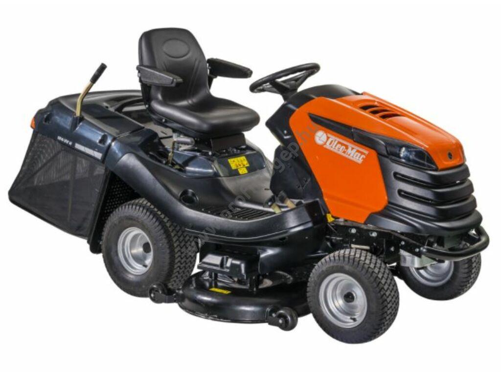 Oleo-Mac 124/22HP fűgyűjtős fűnyíró traktor, 122 cm, B&S, 7220 Prof. Series V-Twin, - ÖSSZESZERELVE ÉS HASZNÁLATRA KÉSZEN SZÁLLÍTJUK!