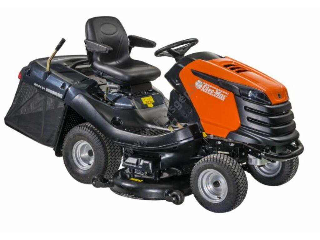 Oleo-Mac 124/24KH fűgyűjtős fűnyíró traktor, 122 cm, Emak, K 2400 AVD V-Twin, - ÖSSZESZERELVE ÉS HASZNÁLATRA KÉSZEN SZÁLLÍTJUK!