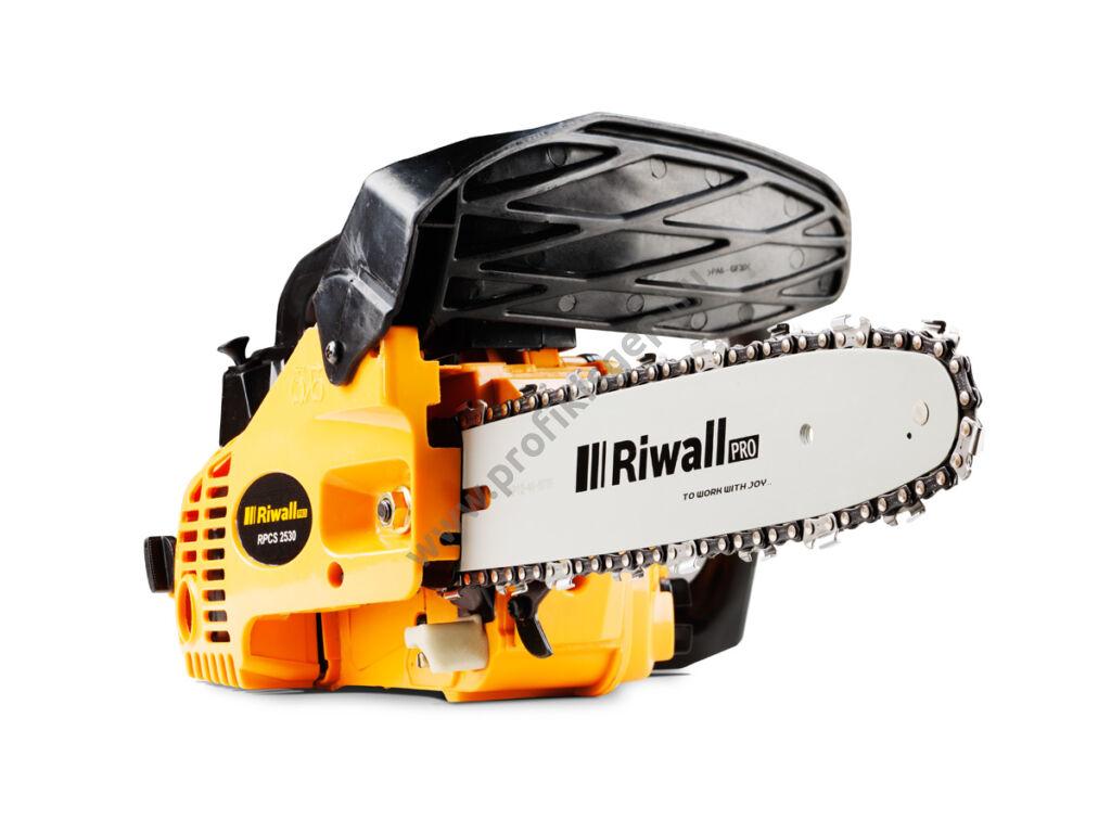 Riwall RPCS 2530 egykezes benzinmotoros láncfűrész
