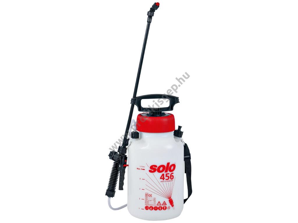 SOLO 456 permetező kézi pumpás vállhevederrel, 5 liter, 3.0 bar