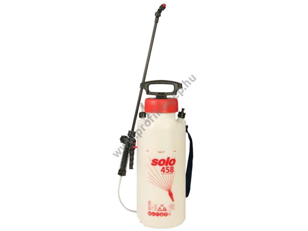 SOLO 458 permetező kézi pumpás vállhevederrel, 11 liter, 3.0 bar