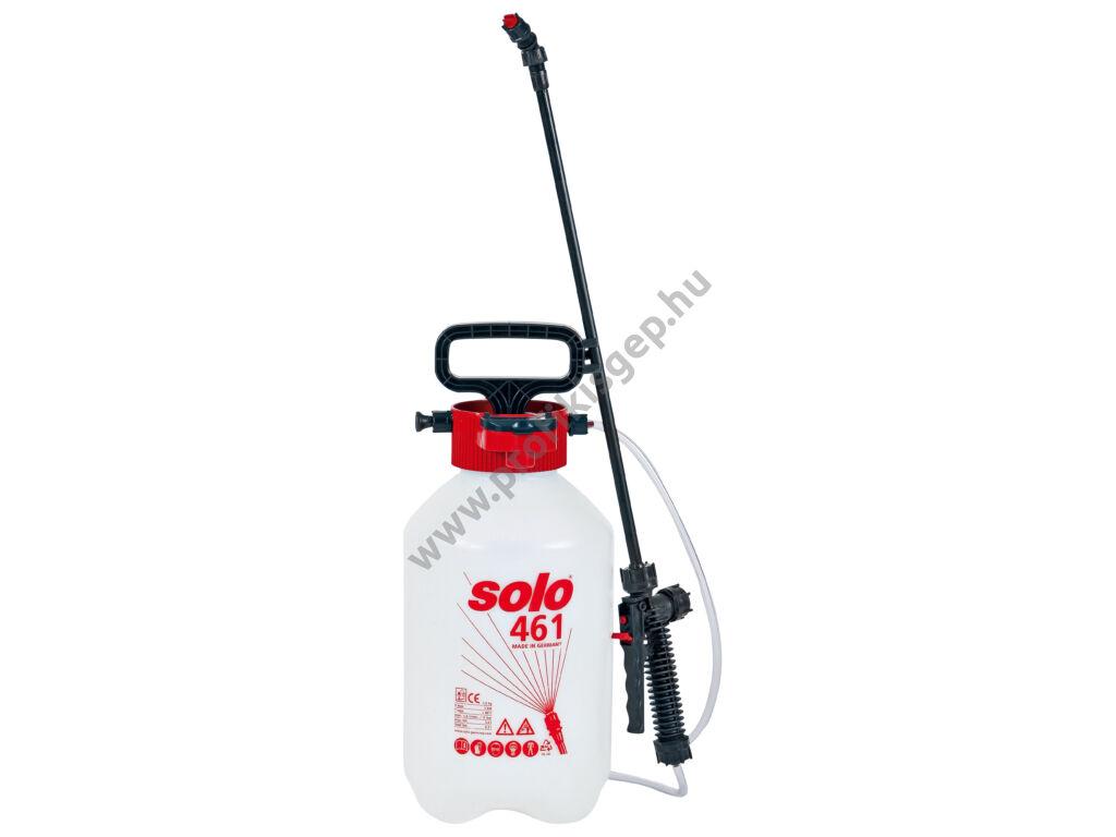 SOLO 461 permetező kézi pumpás vállhevederrel, 5 liter, 3.0 bar