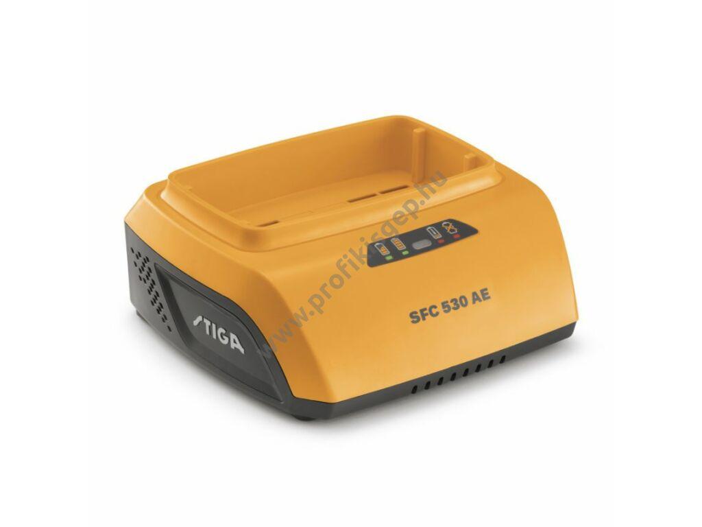 Stiga normál akkumulátor töltő SFC 530 AE (48 V) 3A