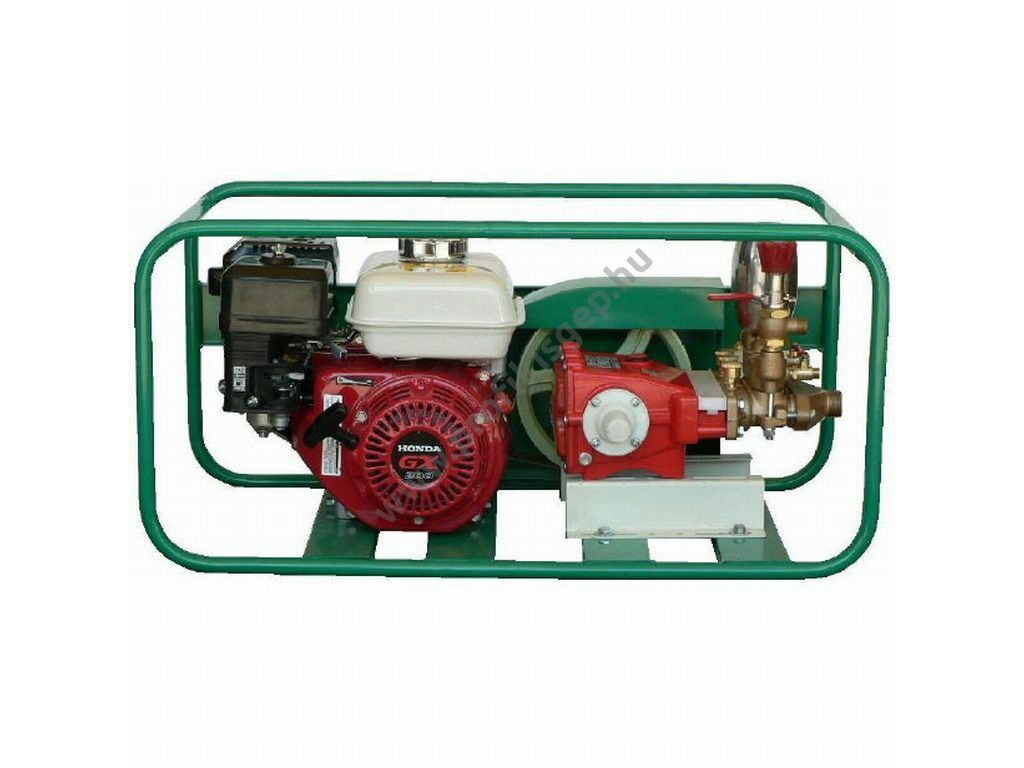 KIS-35 nyomáspróba- és permetezőszivattyú HONDA GX-200 motorral,