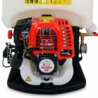 HECHT 433 motoros háti permetező négyütemű motorral