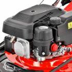 HECHT 547SWR Benzinmotoros önjáró fűgyűjtős fűnyíró, 46cm, OHV 150cm3, oldalkidobó, mulcsbetét