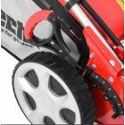 HECHT 5564 SXE 5IN1 Benzinmotoros önjáró fűgyűjtős fűnyíró, 56cm, Loncin 196cm3, Önindító, állítható menetsebesség, oldalkidobó, mulcsbetét