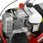 HECHT 5641 2IN1 Benzinmotoros gyepszellőztető, gyeplazító, 40cm, OHV 149cm3, 18 acél kés, szellőztető rugós tengely, fűgyűjtő