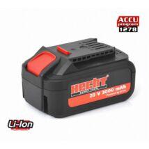 Hecht 001278B akkumulátor Li-ion, 20 V, 3 Ah. (AKKU program 1278)