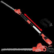 HECHT 6504 akkumulátoros magassági sövényvágó, 40 Volt, 50 cm, akku és töltő nélkül (AKKU program 5040)