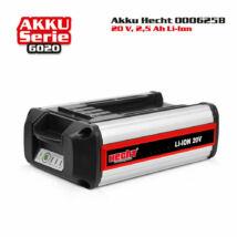HECHT 000625B -Akkumulátor 20V, 2.5 Ah, Accu6020 gépekhez