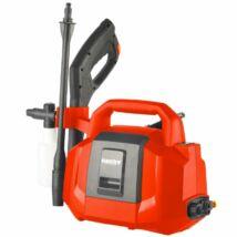 HECHT 3425 akkumulátoros magasnyomású mosó, max: 40bár, 20V, 240 l/óra, önfelszívó, akku és töltő nélkül (AKKU program 6020)