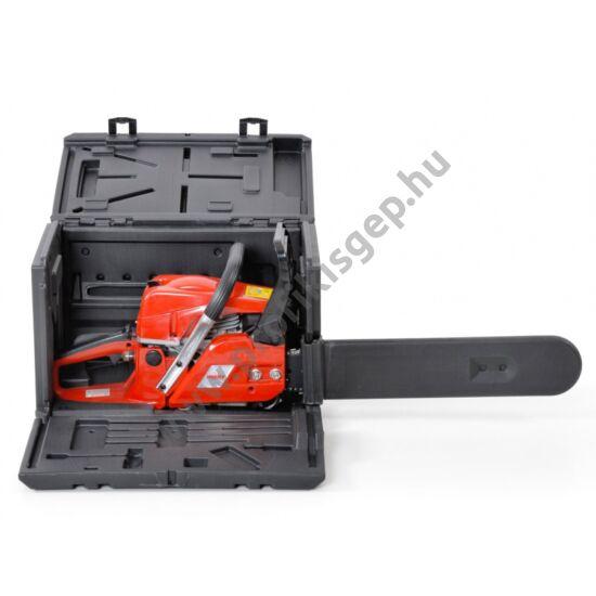 HECHT 44 BOX benzines láncfűrész hordozóládával
