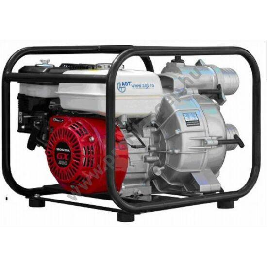 AGT WPT30HX zagyszivattyú, HONDA GX200, 850 liter/perc, 2.6 bár, 3 coll. 30mm szemcseméretig